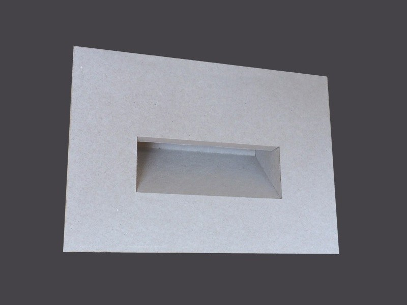 Plasterboard foot- and walkover light MARKER LIGHT FITTING WITH NICHE - Gyps