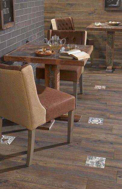 Pavimento/rivestimento in gres porcellanato effetto legno foresta ...