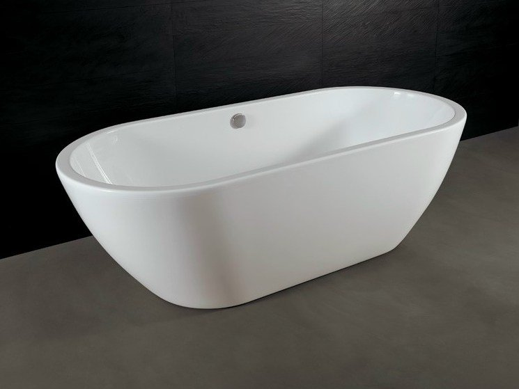 Acrylic bathtub FORM | Bathtub - Alice Ceramica