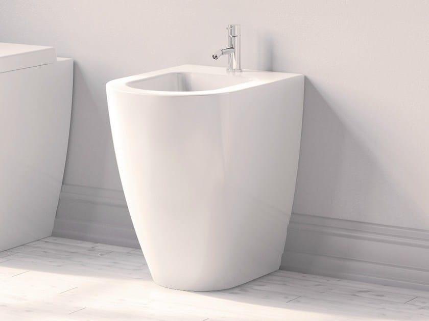 Ceramic bidet FORM H 50 | Bidet - Alice Ceramica