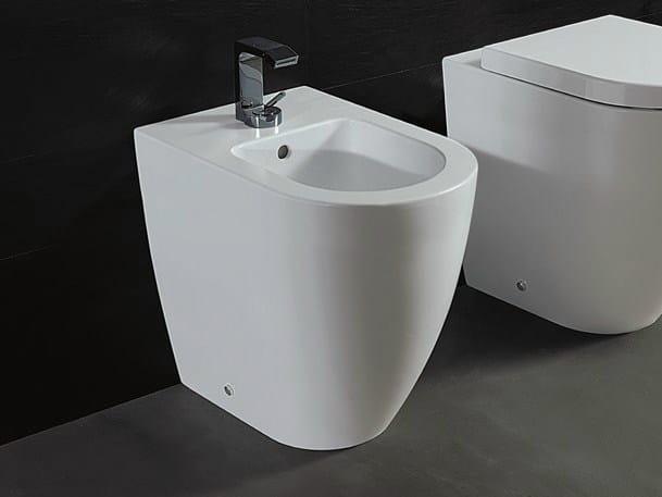 Ceramic bidet FORM H 50 OPEN | Bidet - Alice Ceramica