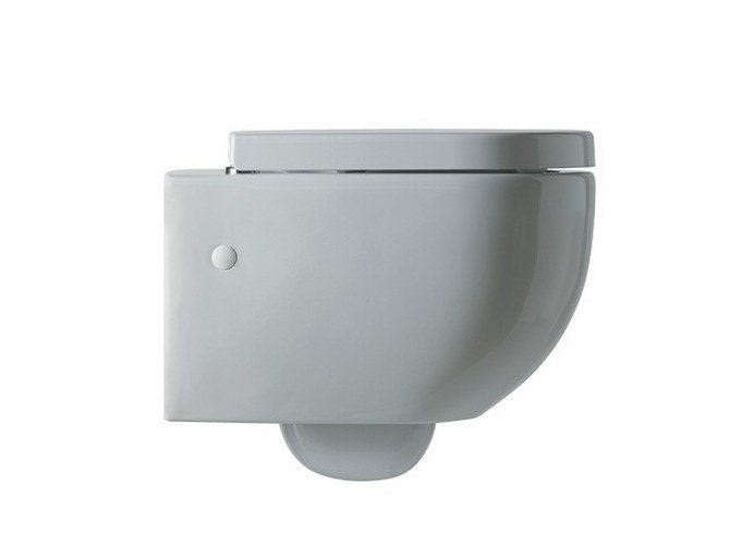 Wall-hung ceramic toilet FORM | Wall-hung toilet - Alice Ceramica