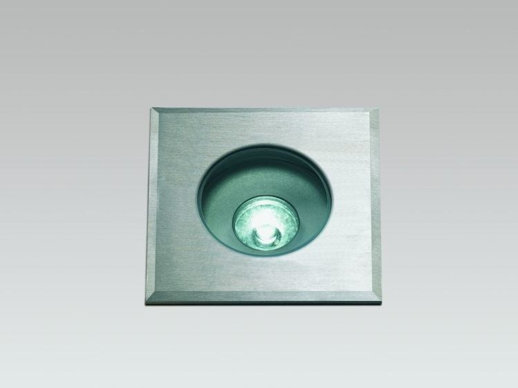 LED outdoor aluminium steplight FORMAT 35F by LUCIFERO'S