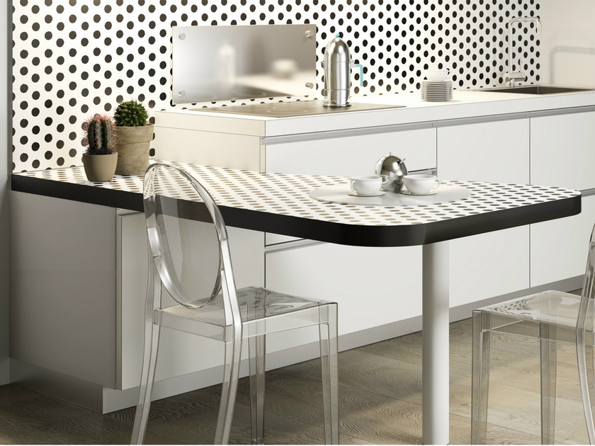 Peninsula table FORME   Peninsula table - De Rosso