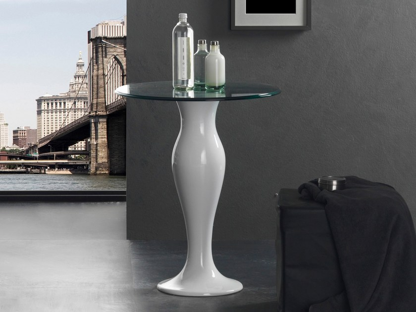 Round crystal table FORMOSA | Table - Olympia Ceramica