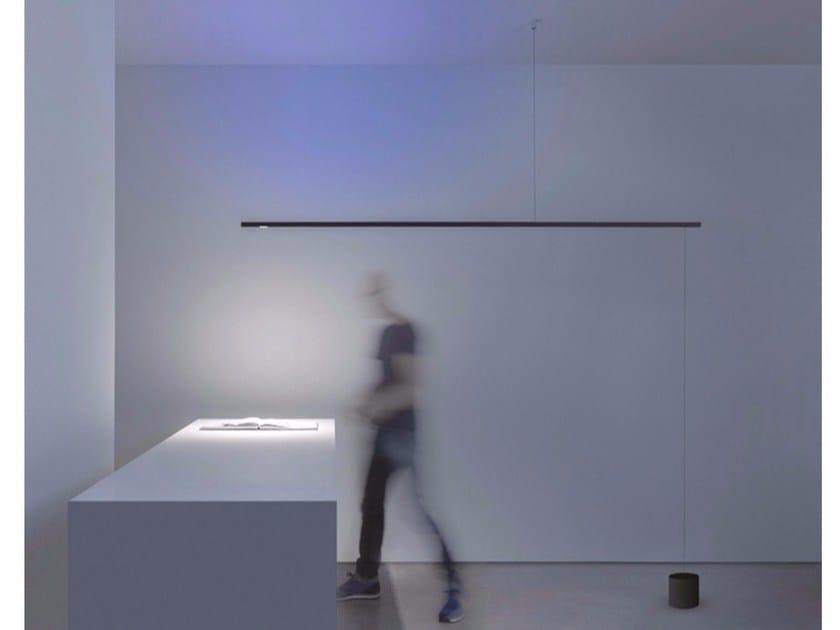 LED metal suspension / floor lamp FOSBURY - DAVIDE GROPPI