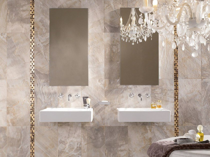 Porcelain stoneware wall/floor tiles FOSSIL by ABK