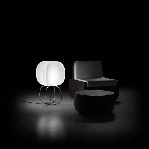 Polyethylene floor lamp FOUR LAMP   Floor lamp by Plust