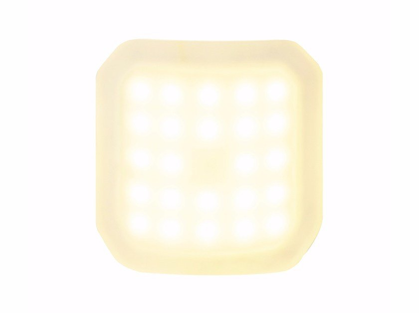 LED wall lamp FOXX CURVE - Top Light