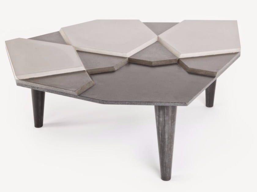 Cement coffee table FRAGMENT BÉTON - MALHERBE EDITION