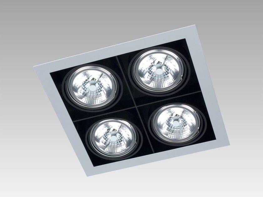 Ceiling recessed spotlight FRAME SQUARE - Orbit