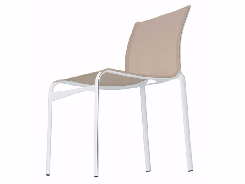 Stackable mesh chair FRAME XL - 458 by Alias