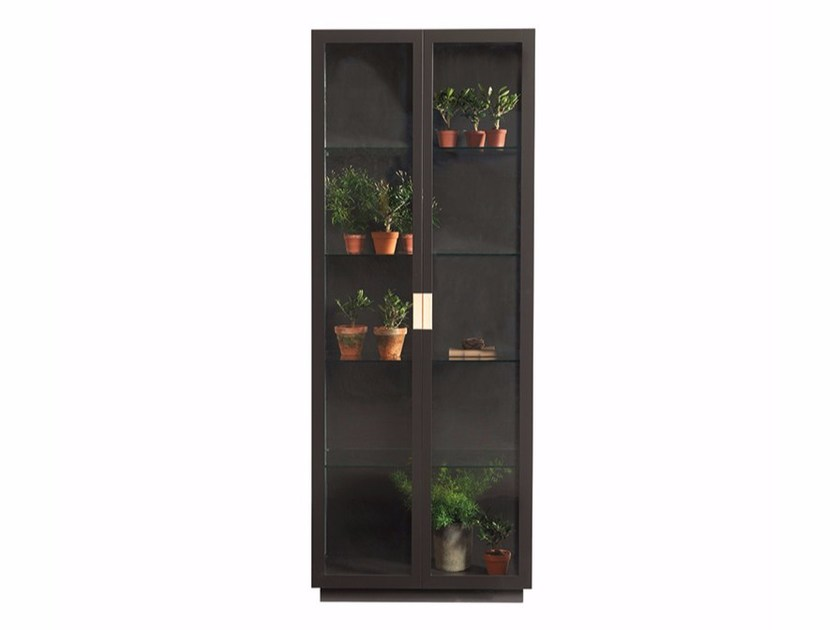 Lacquered metal display cabinet FRAME XL by ASPLUND