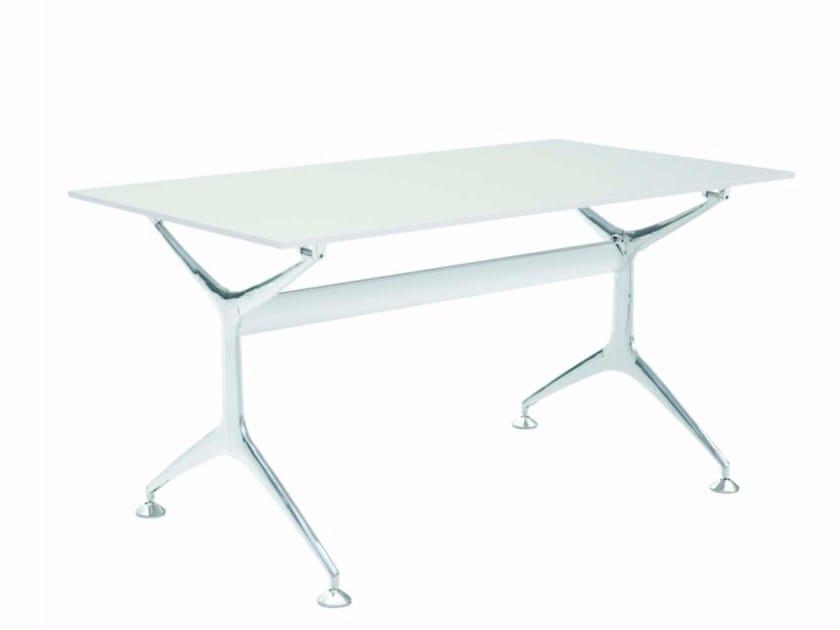 Rectangular aluminium table FRAMETABLE 140 - 496_140 by Alias