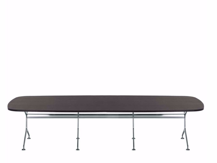 Wood veneer table FRAMETABLE 380 - 499_380 by Alias