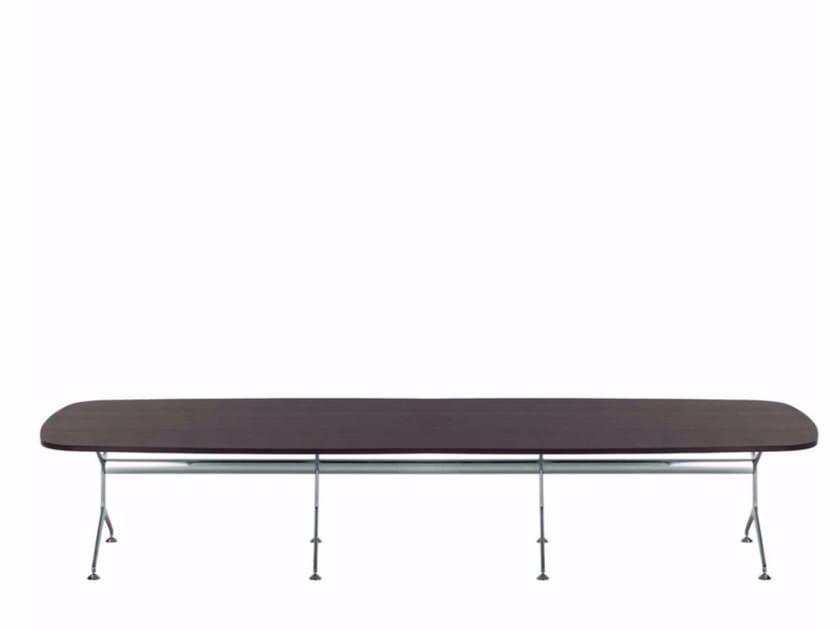 Wood veneer table FRAMETABLE 480 - 499_480 - Alias