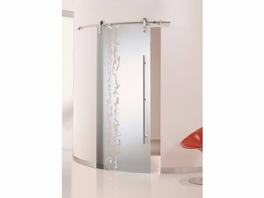 Glass sliding door FRAMMENTI by Casali