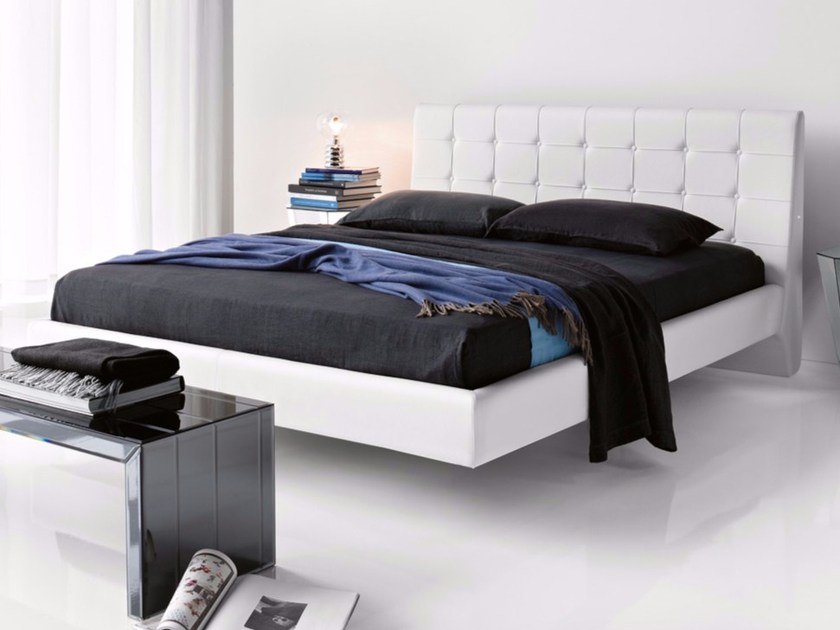 Double bed with tufted headboard FRANKLYN - Cattelan Italia