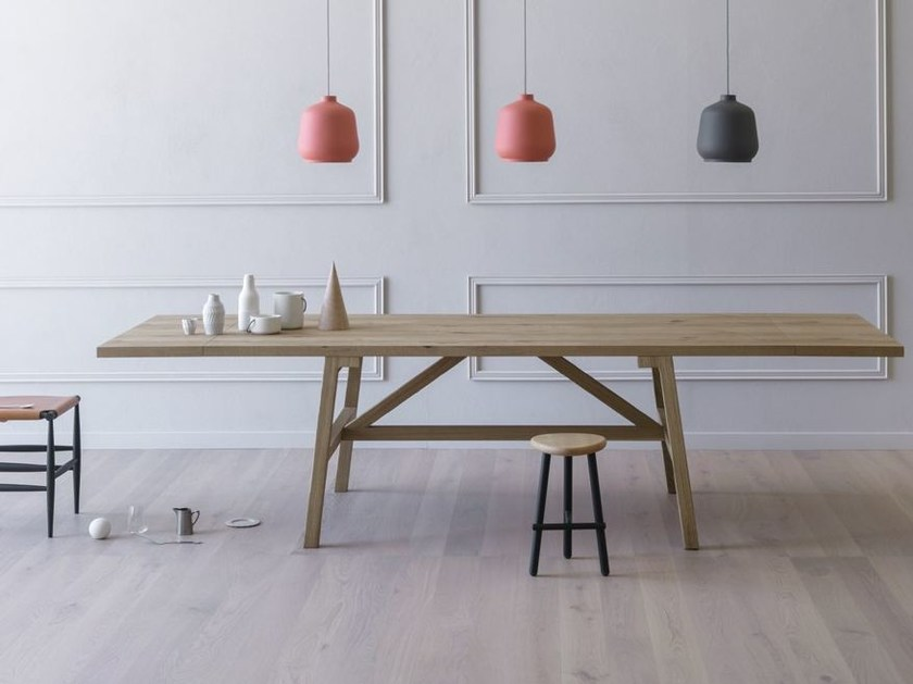 Rectangular dining table FRATTINO by Miniforms