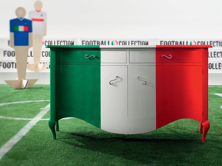 Sideboard handmade furniture personalized furnishings - Football Collection - Modenese Gastone