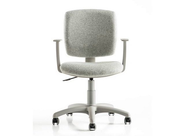 Task chair with 5-Spoke base with armrests FREE by D.M.