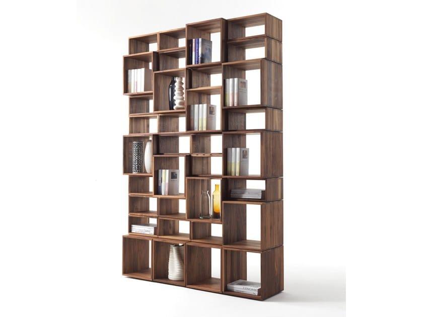 Libreria a giorno in legno massello FREEDOM | Libreria - Riva 1920