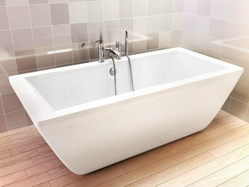 Freestanding rectangular bathtub FREEFORTIS - Polo
