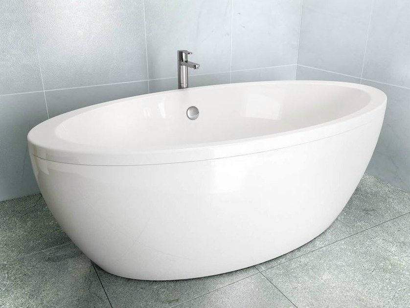 Freestanding oval bathtub FREEFUERTE - Polo
