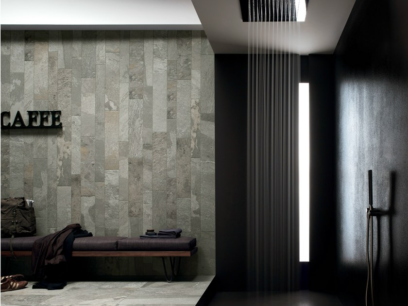 Porcelain stoneware wall/floor tiles with stone effect FREESTONE PEARL - ASTOR CERAMICHE