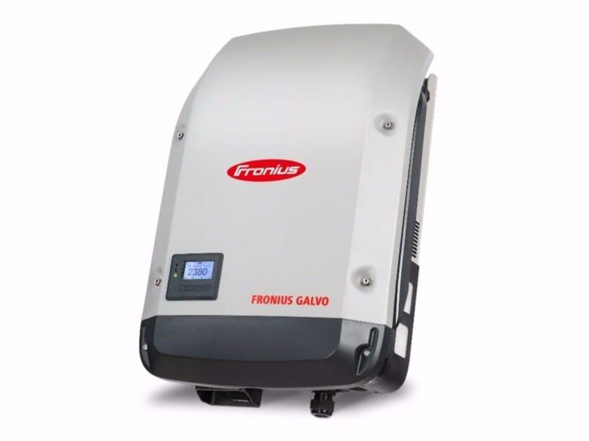 Single-phase Inverter for photovoltaic system FRONIUS GALVO - Fronius Italia
