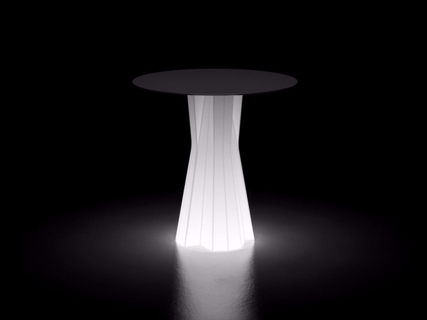 Tavolo luminoso in plastica in stile moderno FROZEN DINING TABLE LIGHT - PLUST Collection by euro3plast