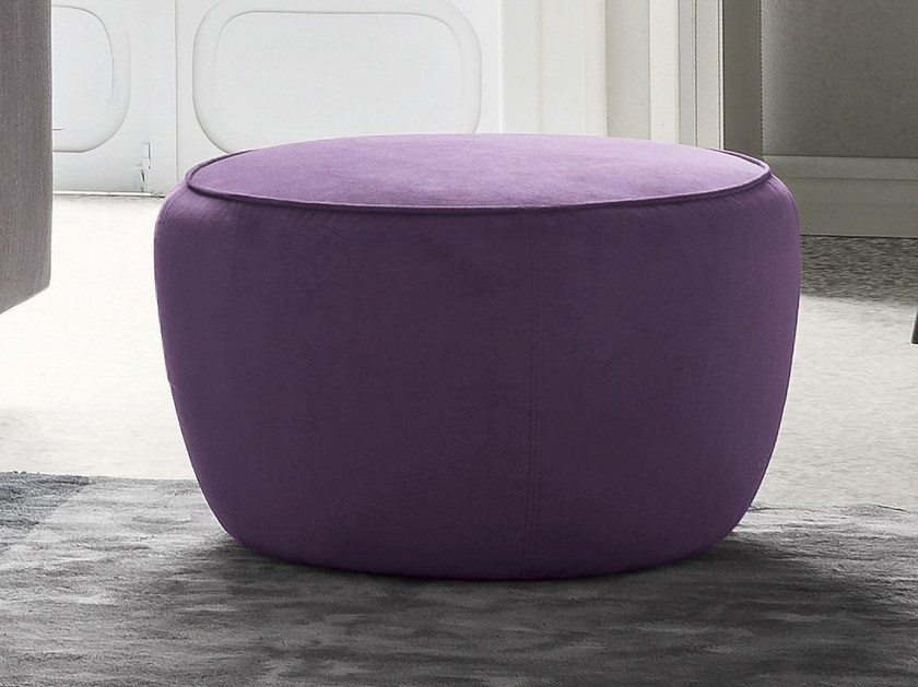 Velvet pouf FUJI by Felis