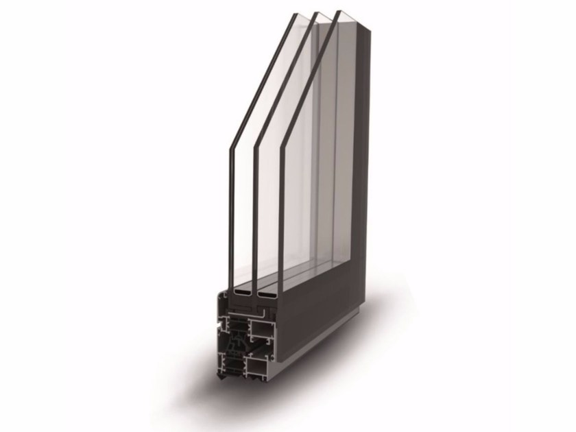 Casement window FULL GLAZING - ALsistem