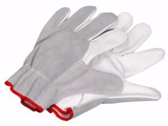 Tanned leather Work gloves FULL-GRAIN LEATHER/SPLIT LEATHER GLOVES - Würth