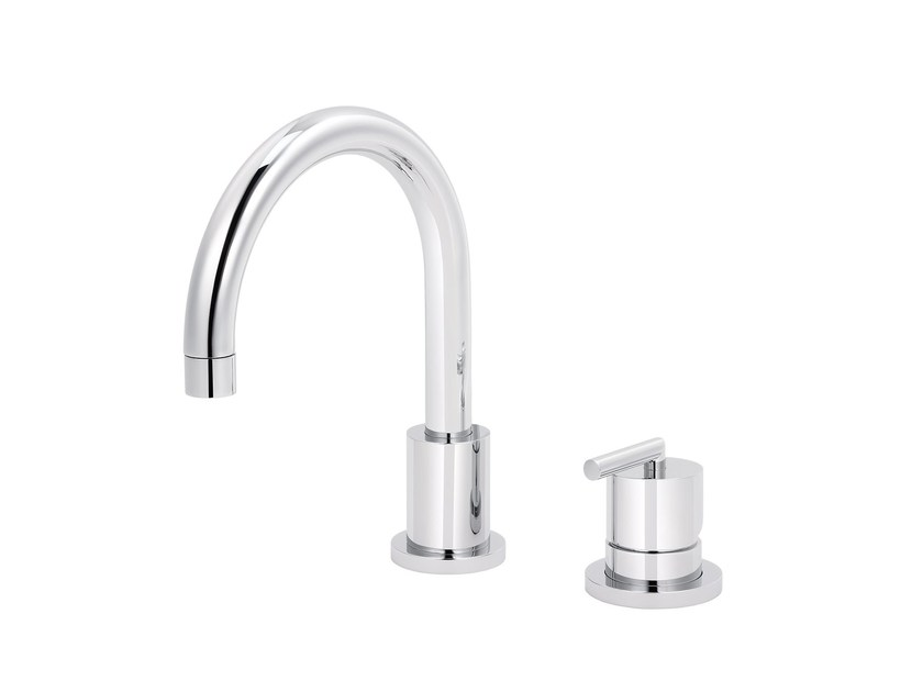 2 hole countertop single handle washbasin mixer FUN | 2 hole washbasin mixer - rvb