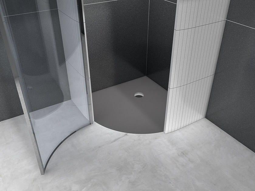 Piatto doccia angolare incassato FUNDO BORGO - Wedi Italia