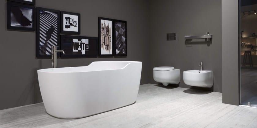 vasca da bagno centro stanza in cristalplant funny west antonio lupi design. Black Bedroom Furniture Sets. Home Design Ideas