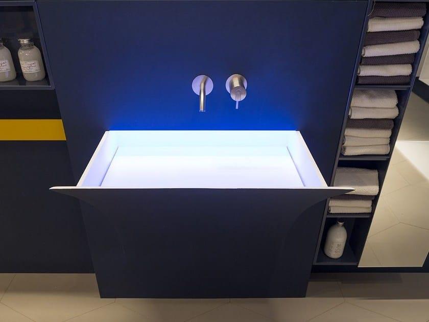 Corian® washbasin FUORISTRAPPO - Antonio Lupi Design®