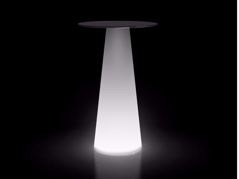 Tavolo luminoso in polietilene FURA TABLE | Tavolo luminoso - PLUST Collection by euro3plast