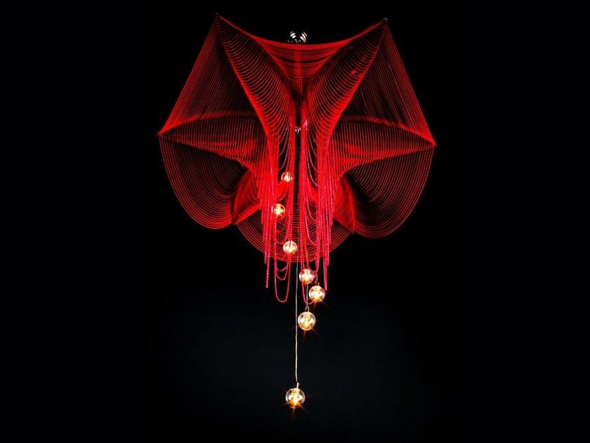 Pendant lamp FUSCHIA by Willowlamp