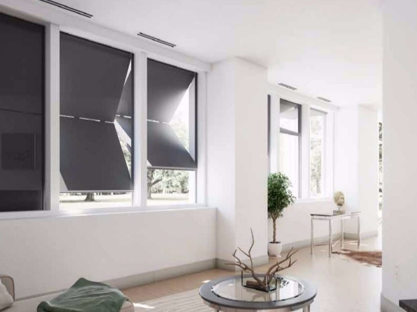 Aluminium panel shutter FUSION - LIKE BLINDS