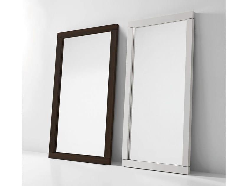 Countertop rectangular framed mirror FUSION - PIANCA