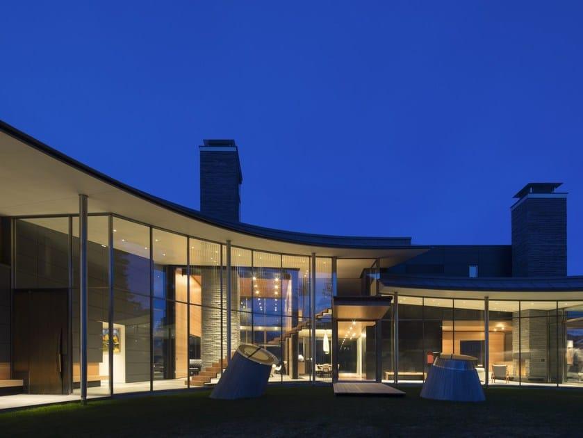 Thermal break metal glass facade Facciate in metallo a taglio termico - Capoferri Serramenti
