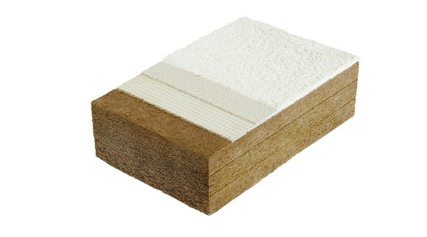 Wood fibre thermal insulation panel Fibra di legno FiberTherm Protect dry180 by BetonWood