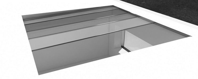 Finestra da tetto in alluminio finestra da tetto otiima for Finestra da tetto