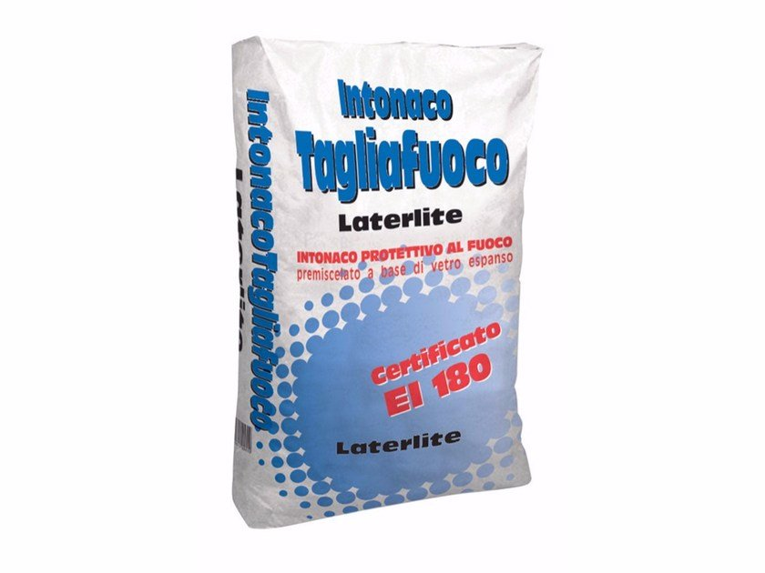 Fire-retardant plaster Fire-retardant plaster - Laterlite