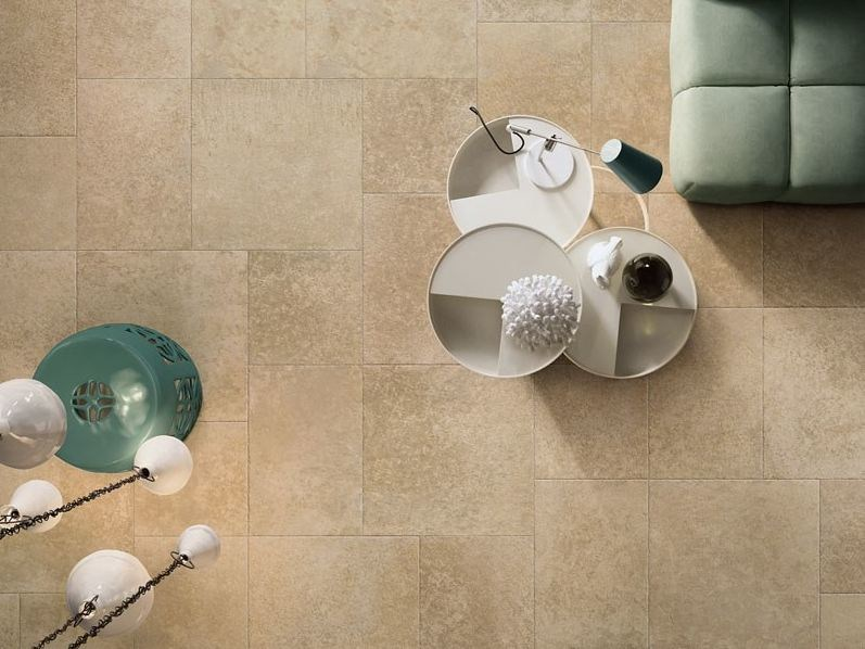 Antibacterial flooring with stone effect GRANDE PIERRE MICROBAN® - LEA CERAMICHE