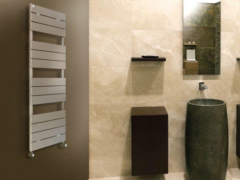 Vertical wall-mounted towel warmer FLY by DELTACALOR