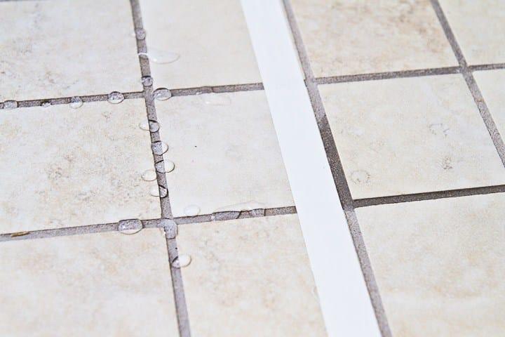 Protettivo per pavimento fuga pro effetto naturale camp - Colore fughe piastrelle ...