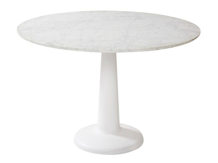 Tavolo rotondo in marmo G | Tavolo in marmo by Tolix